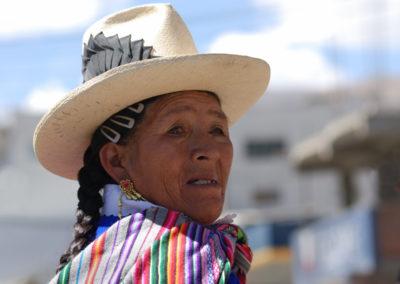 A Classic Peruvian Woman