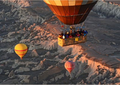 Balloons & Badlands Cappadocia, Turkey
