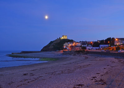 Criccieth & Castle at Nightfall