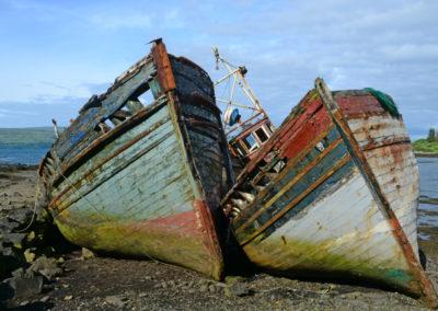 DSC9925 Boat Wrecks at Salen, Mull AV