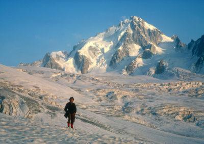 Aiguille du Chardonnet from Tour Glacier (1972) AV