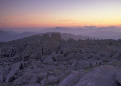 Dawn from Bowfell to Skiddaw AV