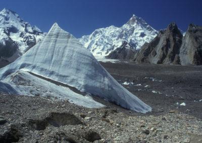 Ice Pinnacle & Masherbrum, Karakoram Mtns Pakistan