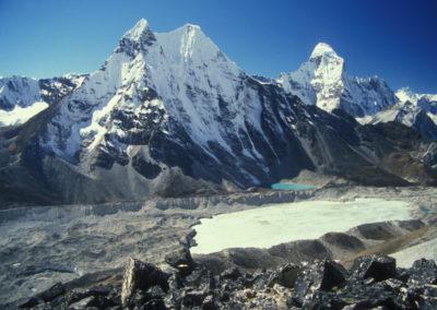 Unnamed Peak & Ama Dhablam, Nepal