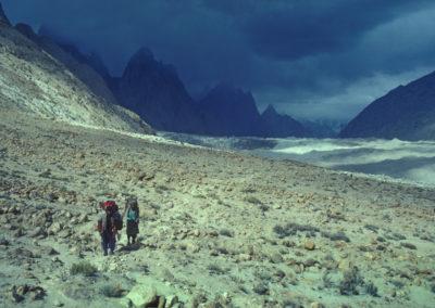 Baltoro Retreat (Karakoram Mtns, Pakistan)